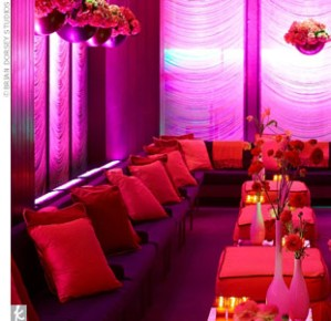 pink and red room